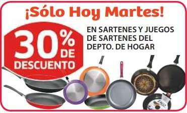 Soriana: 30% de descuento en todos los sartenes y mojarra $59 el kilo