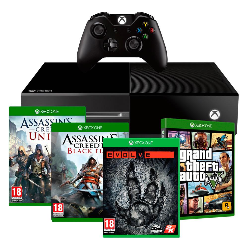 Walmart: Xbox One + 4 Juegos $7,999
