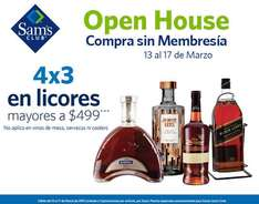 Sam's Club: entrada libre, 18 meses sin intereses + 3 de bonificación, 4x3 en botellas, iPad Air 2 $6,999