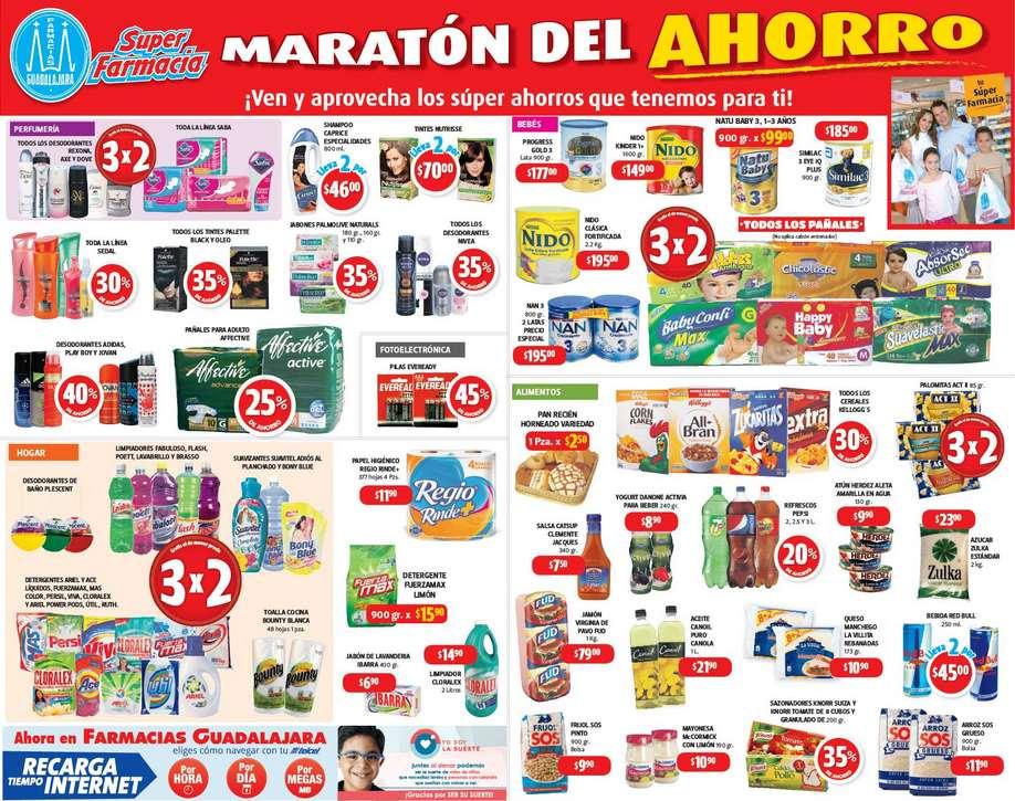 Farmacias Guadalajara: 3x2 en todos los pañales, palomitas, detergentes y más