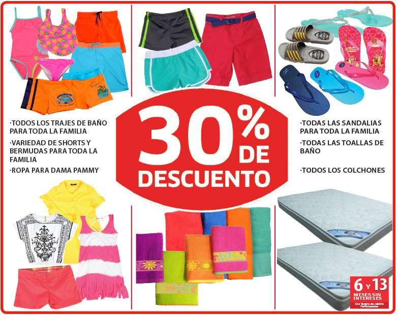 Soriana: 20% de descuento en vinos y licores, 30% en trajes de baño, shorts, sandalias y más
