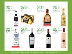 Folleto de ofertas en Costco del 16 de marzo al 12 de abril