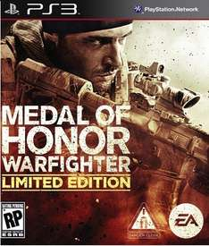 Best-Buy PS3 Medal of honor: Warfigther (Limited) $199