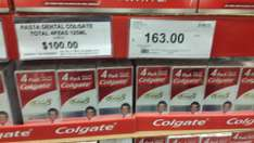 City Club: Colgate Total paquete con 4 a $100.00
