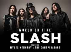 2x1 en Ticketmaster: concierto the Slash en Guadalajara, DF, Monterrey y más