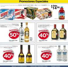 Folleto de ofertas en City Club marzo 2014