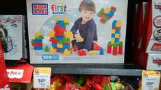 Walmart: Mega Blocks First Builders 100 piezas $145.01