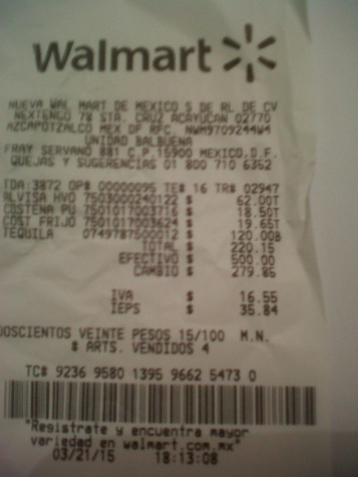 Walmart: ofertas en Huevo, Tequila Cabrito y lata frijoles La Costeña