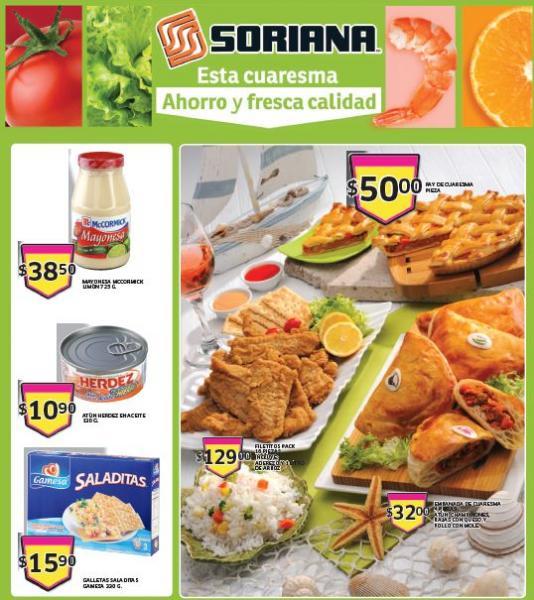 Folleto de ofertas en Soriana del 28 de febrero al 6 de marzo