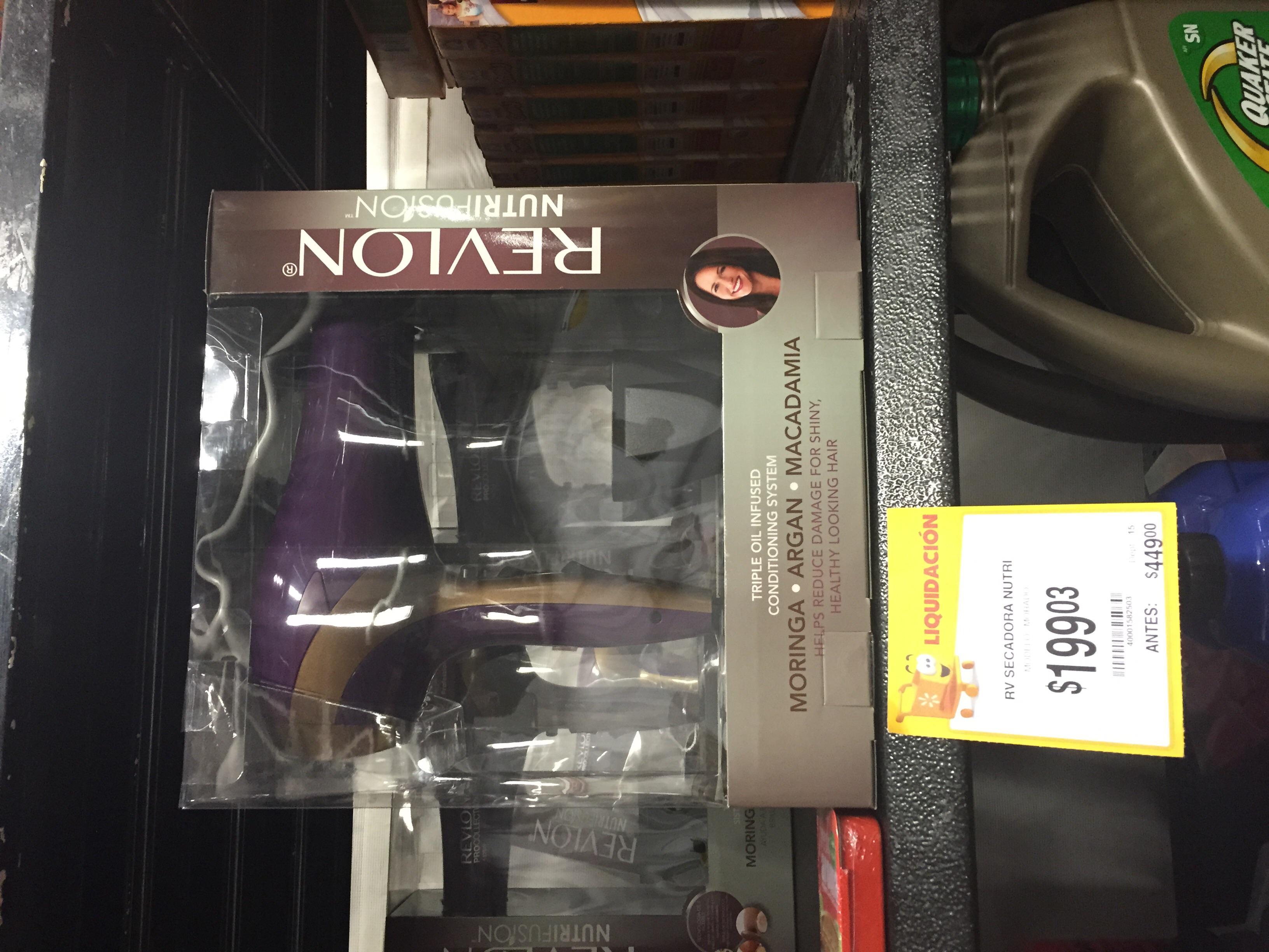 Walmart: Secadora de cabello Revlon $199.03