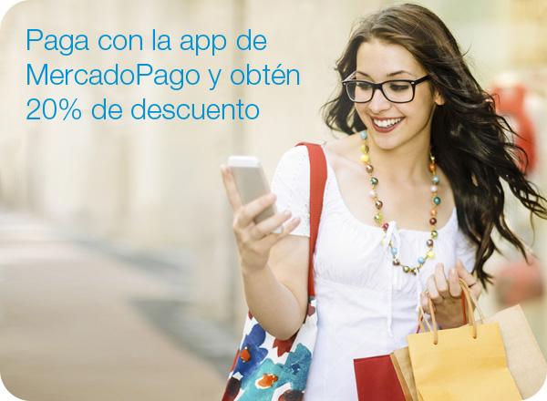 Mercado Libre: 20% de descuento pagando con la App de MercadoPago