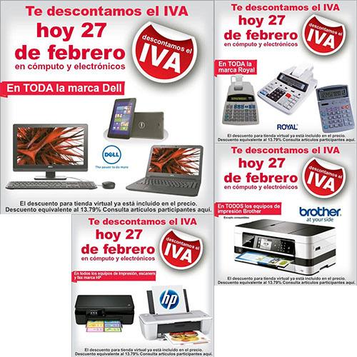 Office Depot: Descuento de IVA en cómputo y electrónicos (actualizado)