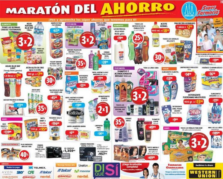 Farmacias Guadalajara: maratón del ahorro (actualizado)