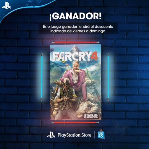 PSN: Far Cry 4 para PS4 y PS3 a $18.34 USD