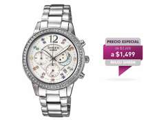 Liverpool: Reloj Sheen Casio $1,019 (Antes $2,600)