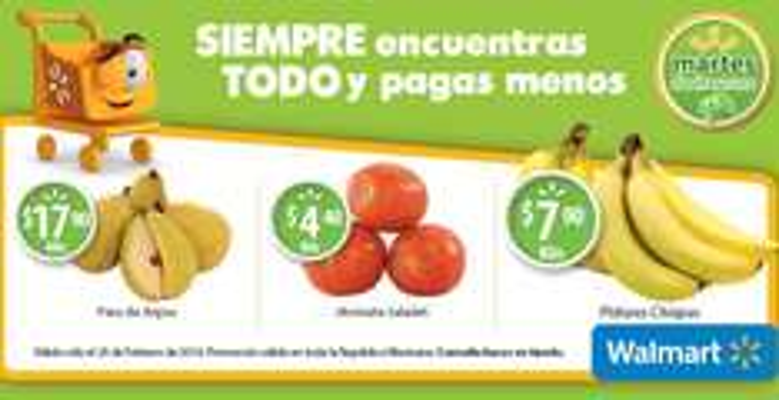 Martes de frescura en Walmart febrero 25: jitomate $4.40 el kilo y más