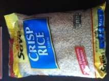 Soriana: cereal Crisp Rice en bolsa de 907g a $18