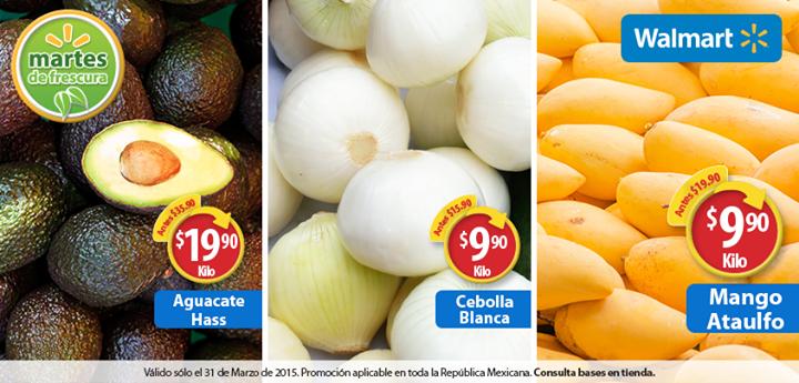 Martes de Frescura en Walmart marzo 31: mango $9.90 el kilo y más