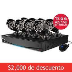 Costco: DVR Swann con 8 Camaras HD a $5,999