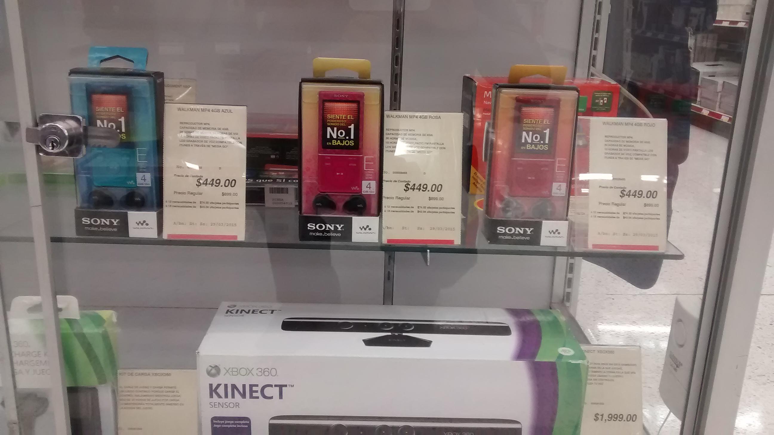 Office Depot: MP4 Sony Walkman 4GB $449