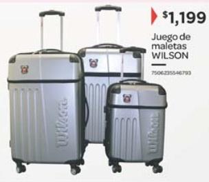 Cityclub: Set BALTIMORE de Maletas Wilson 20, 24 y 28 pulgadas
