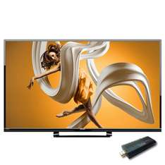 "Costco: Sharp LED 50"" Smart TV 1080p 60Hz con dongle externo"