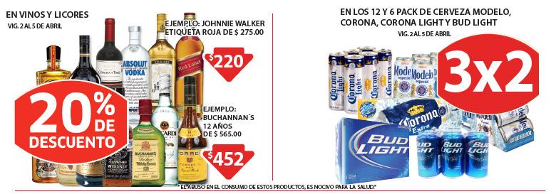 Soriana: 3x2 en cervezas seleccionadas, descuentos en vinos, hieleras, trajes de baño y más