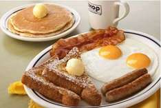 IHOP: desayuno Split Decision Breakfast $69 (regular $139)