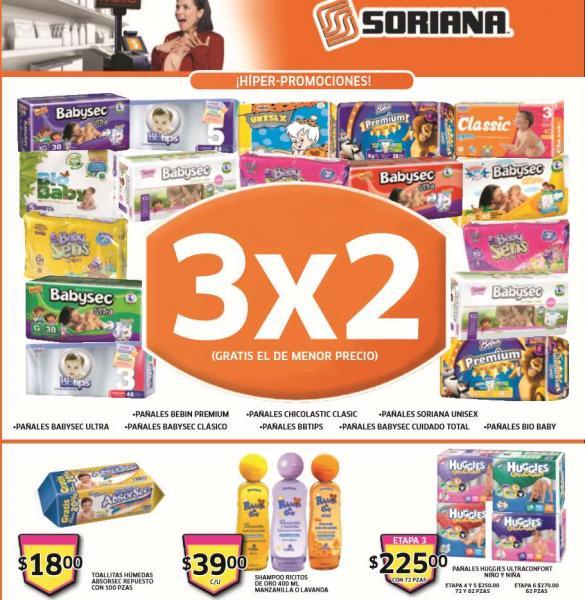 Folleto de ofertas en Soriana del 21 al 27 de febrero