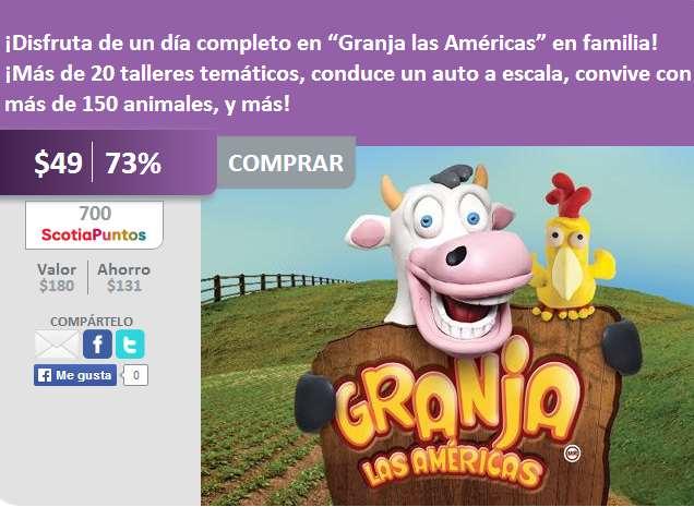 Boleto para Granja Las Américas $49, Gotcha a $29 y Beraka Adventure Park a $25