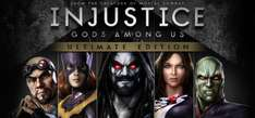 Steam: 75% de descuento en Injustice Gods Among Us Ultimate Edition