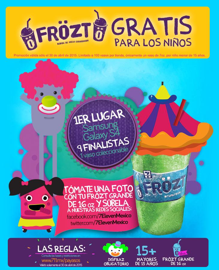 7 Eleven: Frözt gratis el día del niño