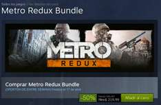 Steam - Metro Redux Bundle OFERTON DE ENTRE SEMANA