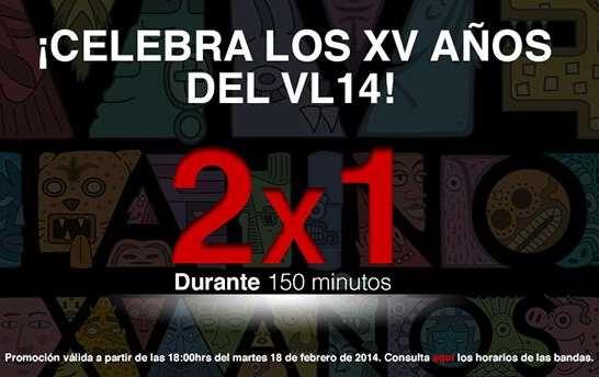Vive Latino: boletos al 2x1 por 2.5 horas mañana