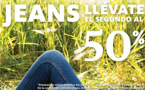 C&A: 2x1 y medio en jeans