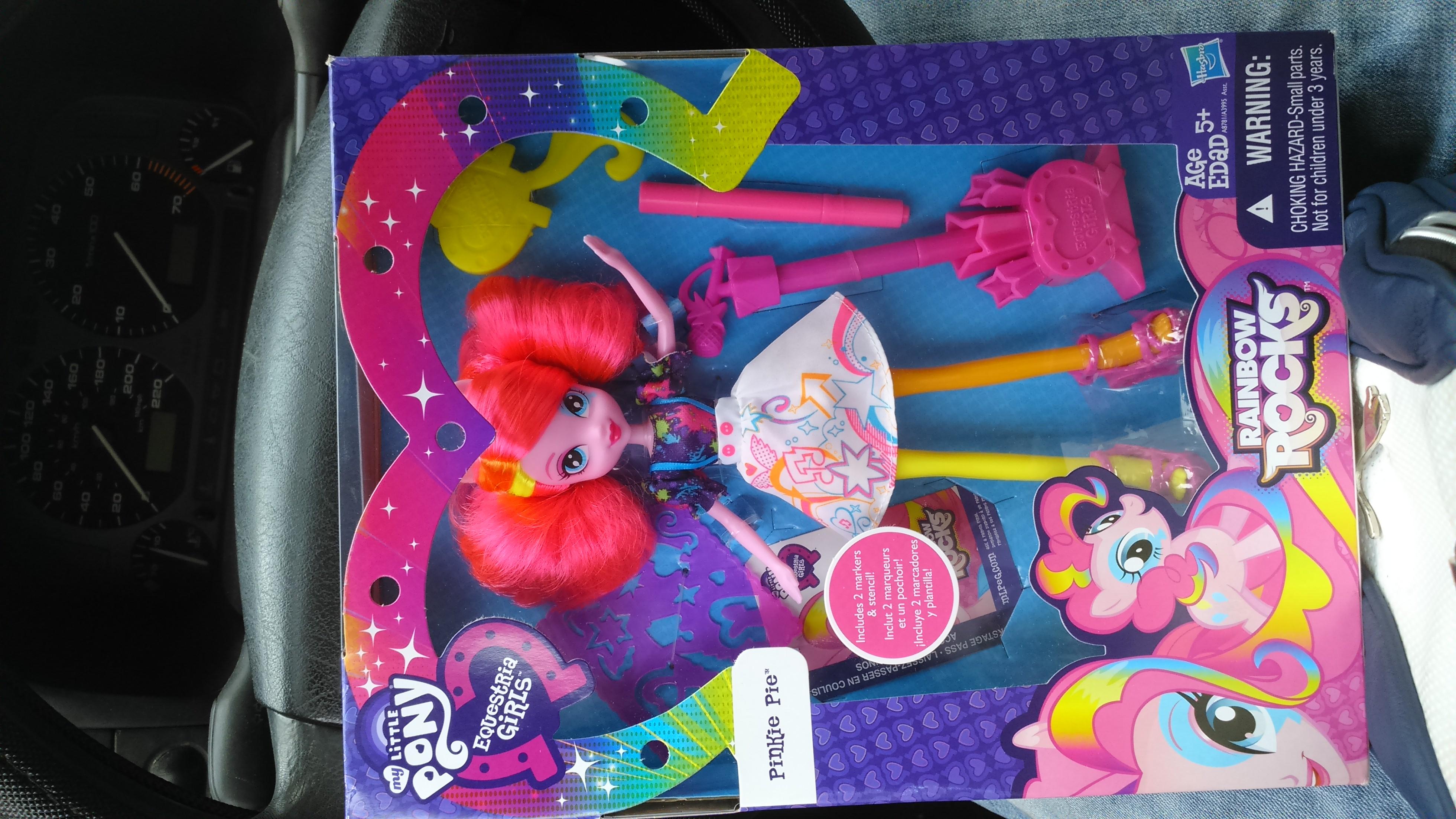 Walmart: muñeca My Little Pony Equestria Girls Pinkie Pie $19