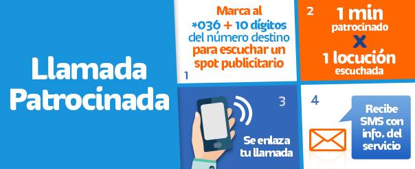 Telcel: servicio de llamada patrocinada