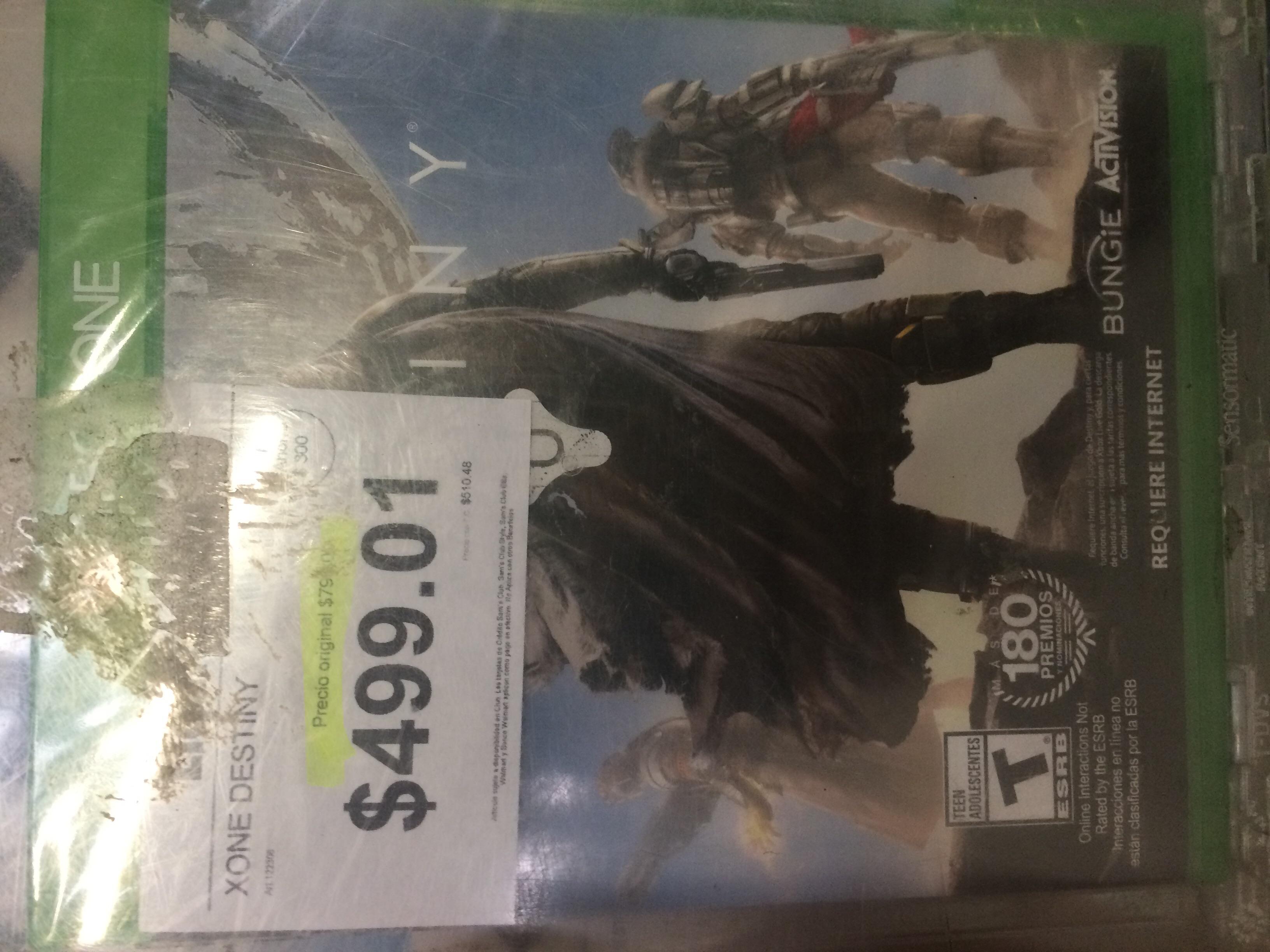 Sam's Club: Destiny para Xbox One, PS4, PS3 a $499