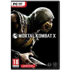 Mortal Kombat X para PC a $20 dólares (digital)