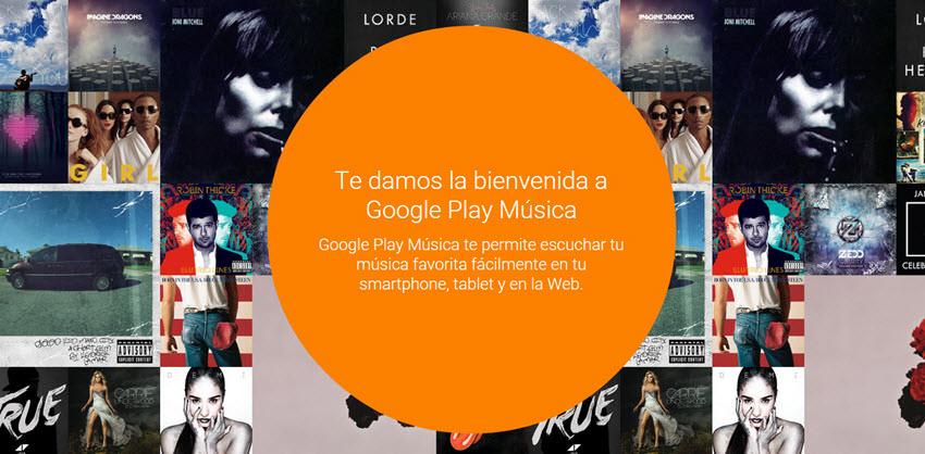 Google Play: 30 días de Música gratis
