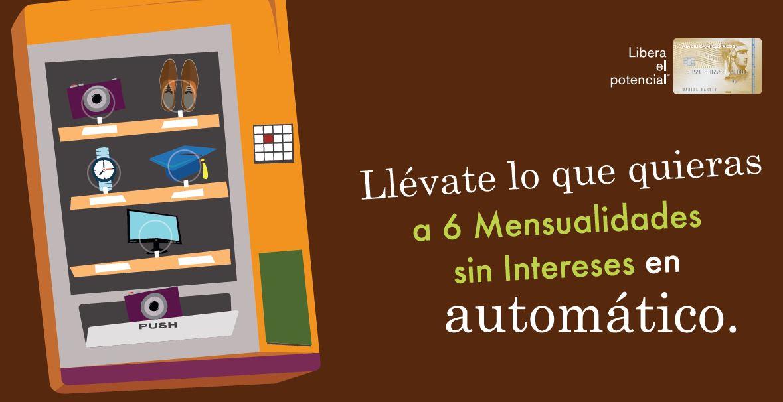 American Express 6 MSI en TODO (automático y gratis)