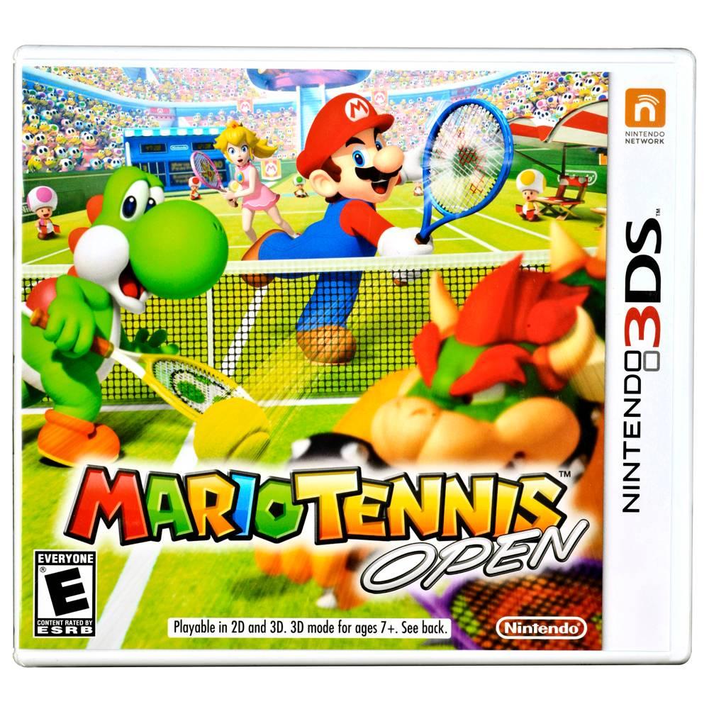 Walmart: Mario Tennis Open para Nintendo 3DS $249 (envio gratis)