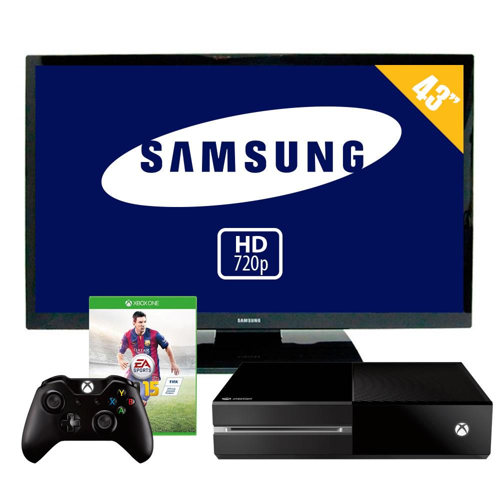 "Walmart: Xbox One con FIFA 15 + pantalla Samsuns plasma 43"" $9,999"