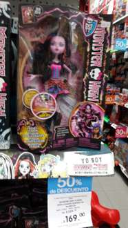 Juguetron: Muñeca Monster High a $169