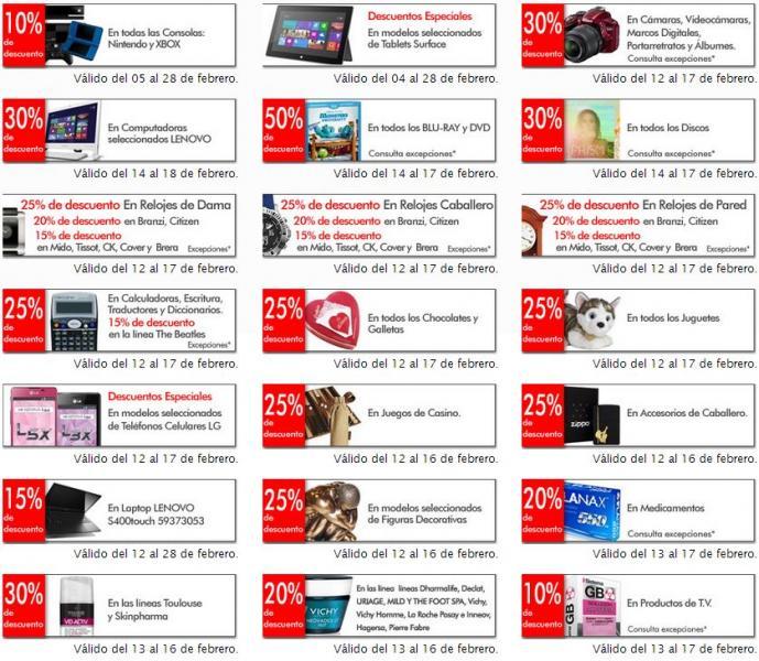 Sanborns: 50% de descuento en DVDs y blu-rays y 30% en discos