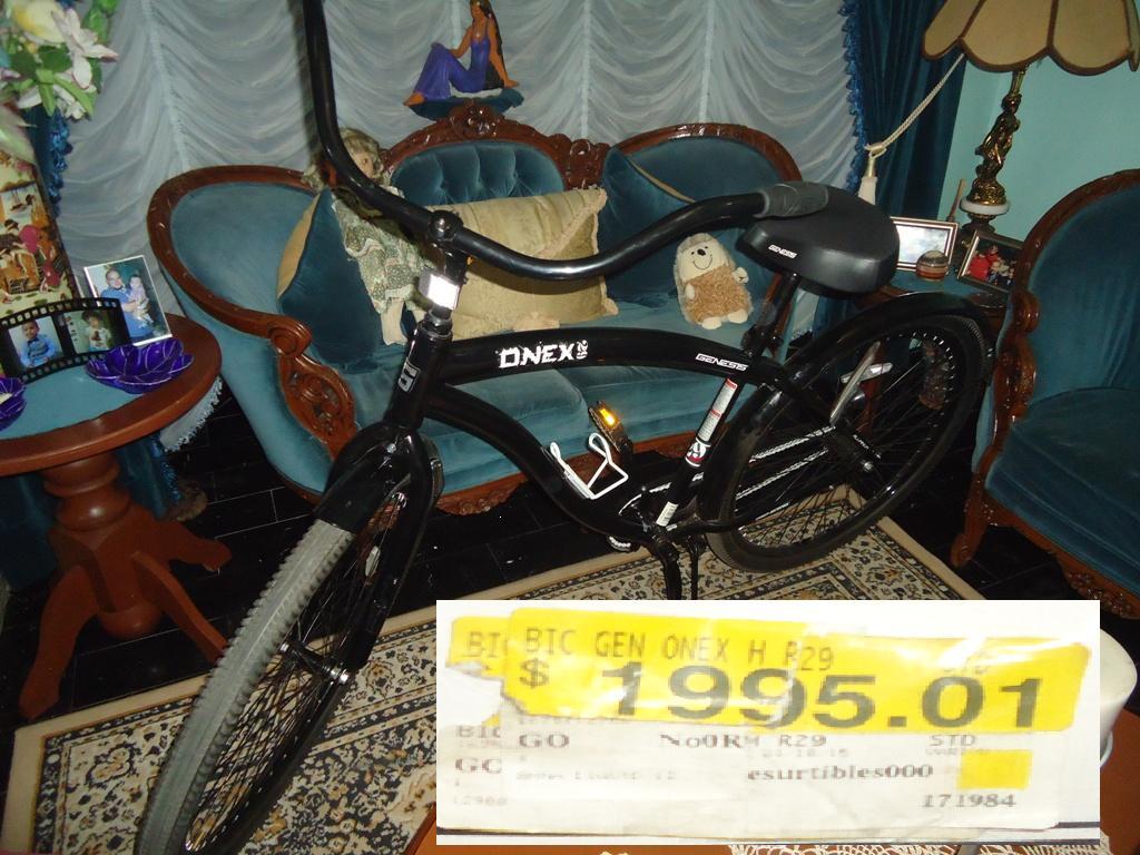 """Walmart: Bicicleta 29"""" Genesis Onex Cruiser Men's Bike a $1,995.01"""