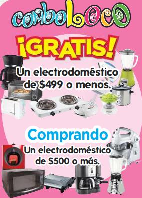 HEB: gratis electrodomésticos de máximo $499 comprando uno de $500 o más