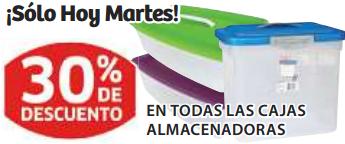 Soriana: 30% de descuento en todas las cajas almacenadoras, 20% en L'Oréal y Maybelline