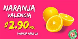 Miércoles de plaza en La comer abril 22: naranja $2.90 y más ofertas
