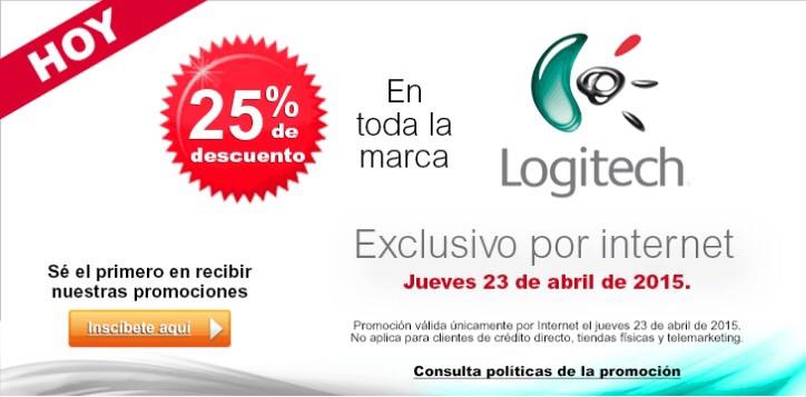 Office Depot en línea: 25% de descuento marca Logitech